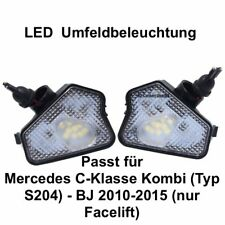2x LED TOP SMD Umfeldbeleuchtung Weiß Mercedes C-Klasse Kombi (Typ S204)  (7225)
