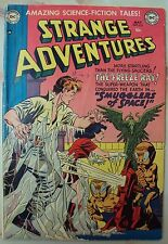 STRANGE ADVENTURES 20 FROM 1952 DC COMICS GOLDEN AGE 1952 SCIENCE FICTION SCARY