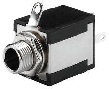 T-635S 6,3-mm Klinken-Einbaubuchse Mono Schalter 1 x Ein