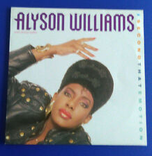 "Alyson Williams: I second that emotion,  Maxi 12"", 1989"