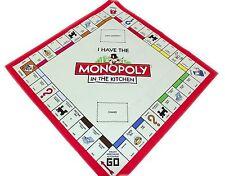 NUOVO Retro Monopoly Gioco Board TEA ASCIUGAMANO CUCINA COTONE Design Classico Londra