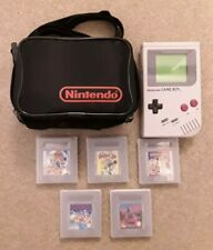 Original Nintendo Game Boy DMG-01, Case & 5 Games