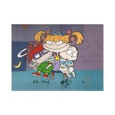 Rugrats Limited Edition Cel Signed Animation Art Nicktoons Seal Coa Hand Painted