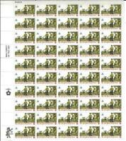US SCOTT 1479 PANE OF 50 DRUMMER STAMPS 8 CENT FACE MNH