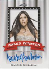 Kourtney Kardashian 2011 Leaf Award Winners autograph auto card AW-KK3