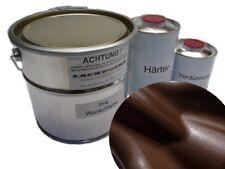 6 Liter Kit 2k Pintura Náutica Marrón Oscuro Metálico Pintura De Yates lackpoint
