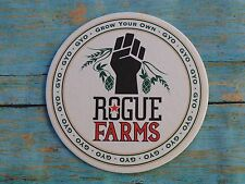 Beer Coaster <> ROGUE Brewing Co Farms >*< GYO = Grow Your Own ** OREGON Brewery