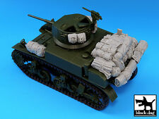 Black Dog 1/35 M3A1 Stuart Tank Accessories Set WWII (for Academy kit) T35027