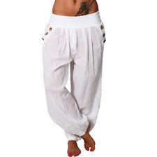 Pantalones de mujer color principal blanco Talla 34