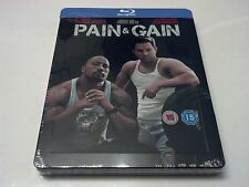 Pain and Gain STEELBOOK (Blu-ray, UK Import) REGION FREE RARE ONLY 1000 Made