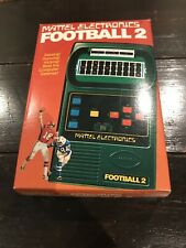 MATTEL ELECTRONICS FOOTBALL 2 HANDHELD GAME 1978 Complete