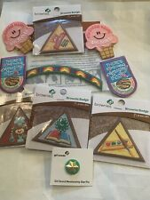 Girl Scouts/Brownies Patch/Pin Lot Of 10