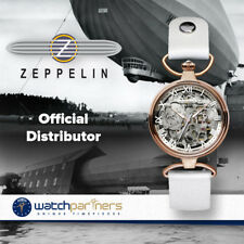 Zeppelin Princess Of The Sky Auto Ladies watch R/Gold case Wrist/Necklace 7459-1