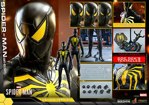 Hot Toys Spider-Man Anti-Ock Suit DELUXE VERSION 1/6 Action Figure VGM45 MISB