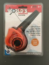 Westminster, Inc. World's Smallest Blower - Real, Working, Tiny, USB Powered NEW