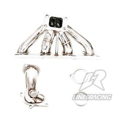 LR T4 Turbo Stainless Steel Exhaust Manifold For OPEL 8V C20NE C20ZE Turbo En...