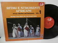 "ritmi e strumenti africani""vol:1.""lp12""or.it.albatros:vpa8256.de 1975."