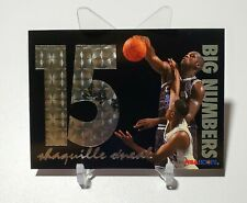 1994 NBA Hoops Big Numbers SHAQUILLE O'NEAL