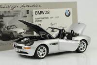 1999 2003 BMW Z8 silber 1:18 Kyosho Dealer