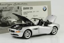 1999 2003 BMW Z8 Silver 1:18 Kyosho Dealer
