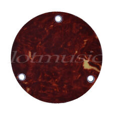 Electric Guitar Switch Cover Back Plate for Guitar Parts Red Tortoise Shell