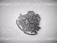NEW**Christmas Bells Metal Cutting Die,Craft,Card Making,Xmas,Scrapbooking