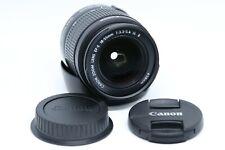 Canon EF-S 18-55 mm f/3.5-5.6 is II objetivamente, paquete de accesorios, como nuevo!!!