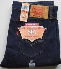 Levi´s ® 501 ® The Rose Stretch  Jeans  Rinsed Indigo  Stretch Viele Grössen NEU