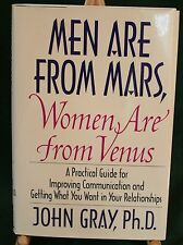 Men Are From Mars, Women Are From Venus by John Gray, PhD.