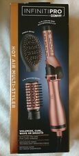 InfinitiPro by Conair Hot Air Brush Multi-Styler, Curling Iron-Hot Air Brush NEW