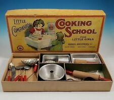RARE Parker Brothers Little Companion Cooking School For Girls Child Cook Set