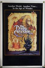 THE DARK CRYSTAL ROLLED ORIG 1SH MOVIE POSTER JIM HENSON FRANK OZ AMSEL (1982)