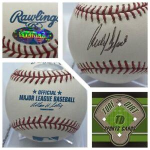 CARLOS DELGADO Autograph Baseball Steiner Authenticated