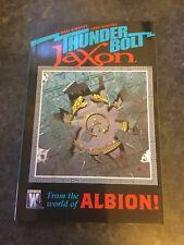 THUNDERBOLT JAXON TPB by Dave Gibbons & John Higgins  Wildstorm