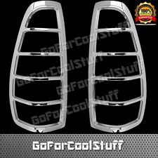 For 04-11 Gmc Canyon Chrome Tail Light Abs Cover