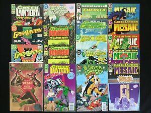 GREEN LANTERN Lot of 18 DC Comics - #64 204 215, 38 41 50 50 66 67 96, Mosaic+!