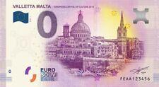 Billet Touristique 0 Euro - Valletta Malta - 2018-1
