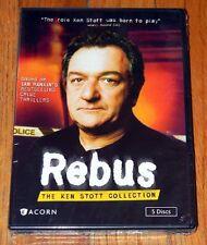 NEW Acorn Media DVD SET ~ REBUS Ken Stott Collection 5 DVDS Crime Thrillers