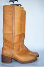 VTG 60's Frye black label mens leather campus ridiing boots 9.5 D Made in USA!