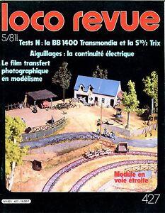 Loco Review 427 Of 1981.LA BB Transmondia IN N