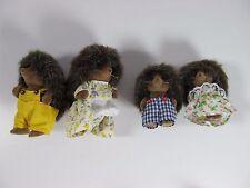 Sylvanian Family Vintage Calico Critters Epoch 1985 Porcupine Set No Babies