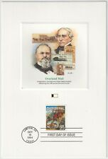1994 USA FDC - Overland Mail - Fleetwood Proofcard Edition - 29 Cent Stamp