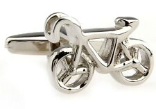 Bike Bicycle Cufflinks Triathlon Cycle Wedding Fancy Gift Box Free Ship Usa