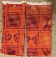 More details for stipple by evelyn redgrave 1960's heal's vintage cotton fabric op art textile