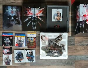 The Witcher 3 Game o. t. Year Limited Collectors Edition + 2. Steelbook PS4