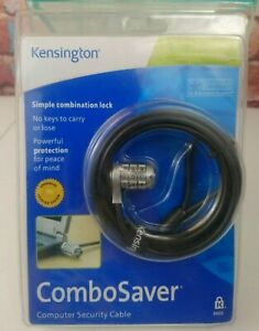 Kensingron Combo Saver Computer Security Cable Lock