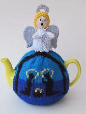 Natale natività Copriteiera Knitting Pattern-Knit il tuo!