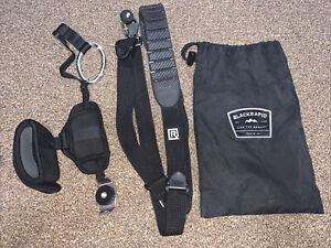 Blackrapid DSLR/Mirrorless Camera Strap w/ USA Gear Hand Strap