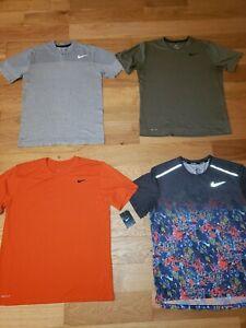 Lot of 4 Nike Dri Fit LEGEND Short Sleeve Running Tees Shirts Mens Large