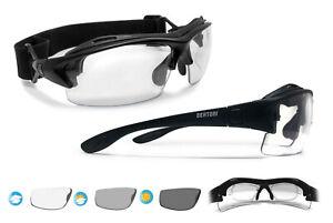 Bertoni Selbsttönende Fahrradbrille MTB mit Sehstärke für Brillenträger F399
